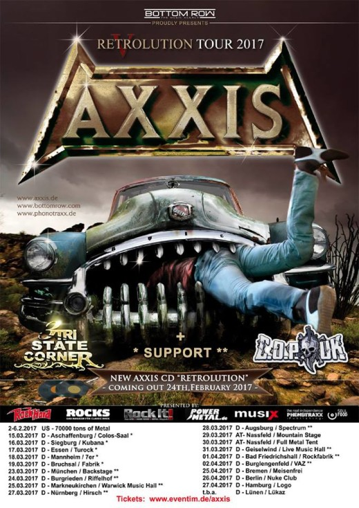AXXIS Retrolution Tour 2017